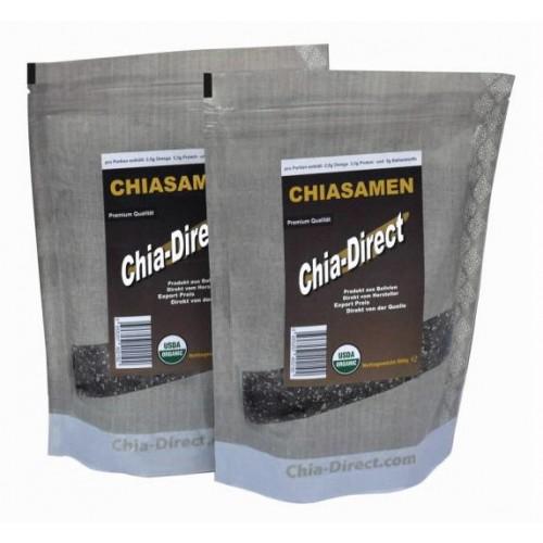 Økologisk chiafrø 2 kg