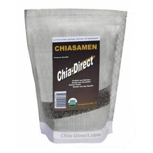 Chia-siemenet luonnollinen omega-3 lähde