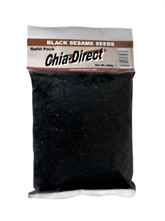 schwarzem Sesam